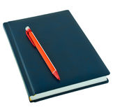 Notebook with a mechanical pencil Stock Photography