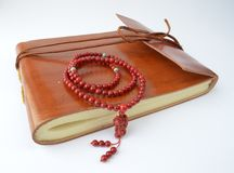 A notebook for meditation, Stock Photography