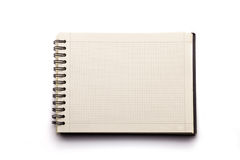 Notebook or notepad. Notebook on a white background Stock Photo