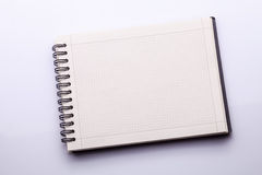 Notebook or notepad. Notebook on a white background Royalty Free Stock Photography
