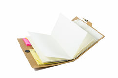 Notebook with old pages Royalty Free Stock Photography
