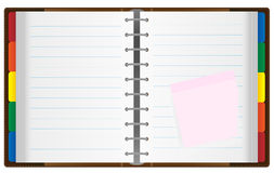 Notebook / Organizer Royalty Free Stock Photo