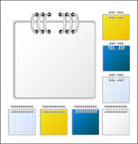 Notebook page. Color Notebook page  illustration Royalty Free Stock Photos