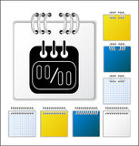 Notebook page. Color Notebook page  illustration Stock Photos