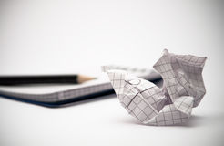 Notebook paper Royalty Free Stock Images