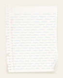 Notebook paper Royalty Free Stock Photos