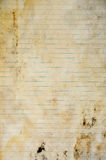 Notebook paper background Royalty Free Stock Photography