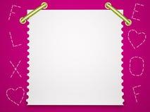 Notebook paper background. Children's background. Stock Photos