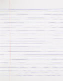 Notebook paper background Stock Photography