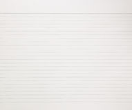 Notebook paper background Royalty Free Stock Photos