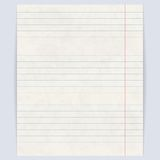 Notebook paper background Royalty Free Stock Image