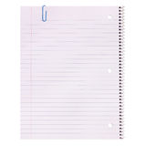 Notebook Paper isolated. Lined Blank Stock Photos