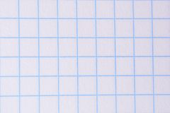 Notebook paper texture Royalty Free Stock Photo