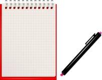 Notebook. Paper. Vector eps 10 Stock Photos