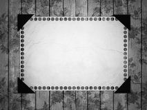 Notebook paper on vintage background. Royalty Free Stock Photos
