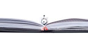 Notebook & pen Royalty Free Stock Photos