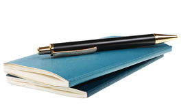 Notebook & pen Royalty Free Stock Image