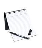 Notebook and Pen (Clipping path) royalty free stock photography