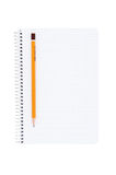 Notebook Pencil. Royalty Free Stock Image