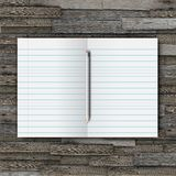 Notebook with pencil Royalty Free Stock Image