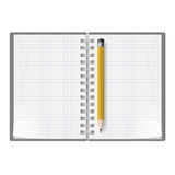 Notebook with pencil Stock Photos