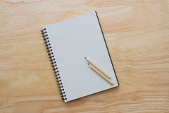 Notebook and pencils Royalty Free Stock Photography