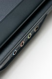 Notebook ports close up Royalty Free Stock Photography