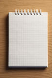 Notebook for records Royalty Free Stock Photo
