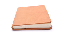 Notebook for records on a white background Royalty Free Stock Image