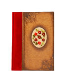 Notebook red Stock Photo