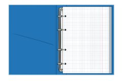 Notebook with rings vector royalty free illustration
