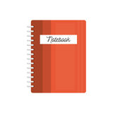 Notebook school isolated icon Stock Photography
