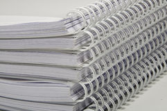 Notebook Set Royalty Free Stock Image