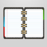 Notebook3. A simple notebook illustration for designs Royalty Free Stock Image