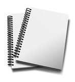 Notebook spiral Stock Photography