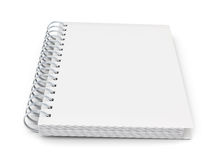 Notebook on a spring to your design Royalty Free Stock Photo
