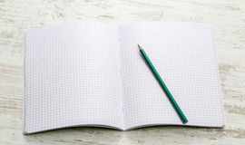 Notebook with Squares Royalty Free Stock Photography