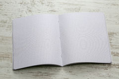 Notebook with Squares Stock Photography