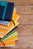 Notebook stack Royalty Free Stock Image
