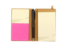 Notebook and stationary Stock Photography