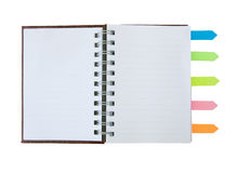 Notebook with Tag Stock Images