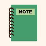 Notebook theme elements Royalty Free Stock Photography