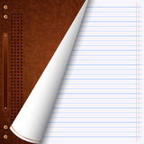 Notebook vector background Royalty Free Stock Image