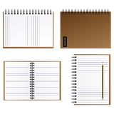 Notebook Vector Illustration EPS10. Royalty Free Stock Photography