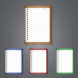 Notebook Vector illustration Royalty Free Stock Photo