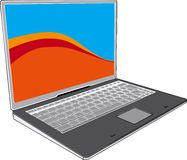 Notebook vector image Stock Photography