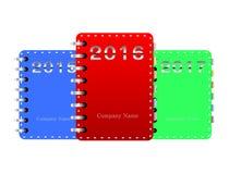 Notebook vector. Year. Vector Illustrator. EPS 10 stock illustration