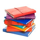 Notebook on the white background. Royalty Free Stock Photo