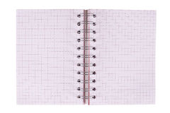 Notebook. On a white background Royalty Free Stock Image