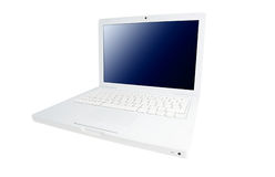 Notebook on the white background Royalty Free Stock Photos